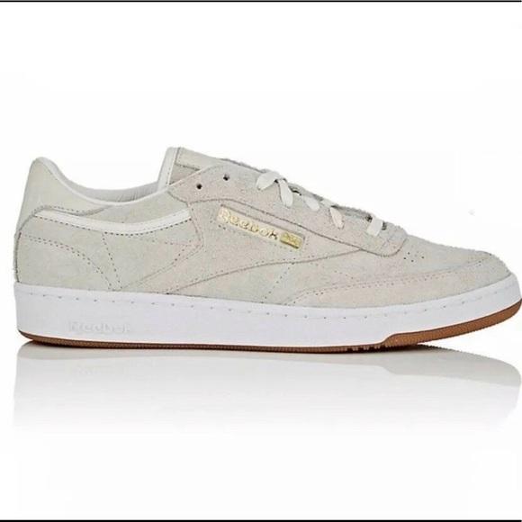 045a0d71b21 NIB Reebok Classic C85 Barney s Exclusive Sneakers